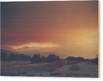 Even Now Wood Print by Laurie Search