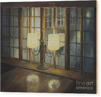 Evening For Two Wood Print by Kiril Stanchev