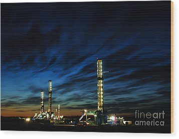 Evening Glory 2 Wood Print by Jim McCain