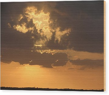 Wood Print featuring the photograph Evening Over Lake George by Fortunate Findings Shirley Dickerson