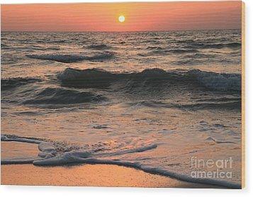 Evening Pastels Wood Print by Adam Jewell