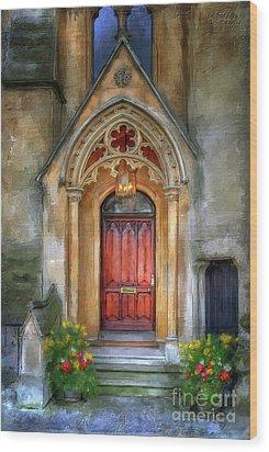 Evensong Wood Print by Lois Bryan