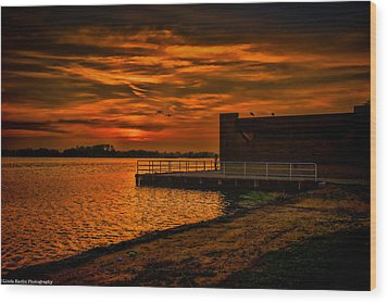 Wood Print featuring the photograph Ever Peacful by Linda Karlin