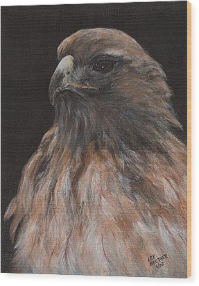 Ever Vigilant Wood Print by Lee Beuther