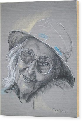 Everybodys Grandma Wood Print