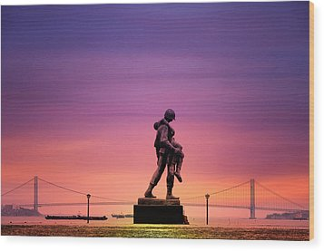 Everyday Is Memorial Day Wood Print by Bill Cannon