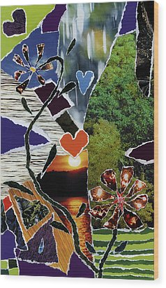 Everyone Love's Their Nature Wood Print by Kenneth James