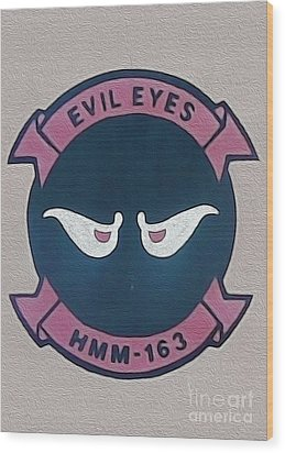 Evil Eyes Wood Print by Gregory Dyer