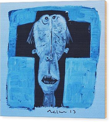 Exanimus No. 12  Wood Print by Mark M  Mellon