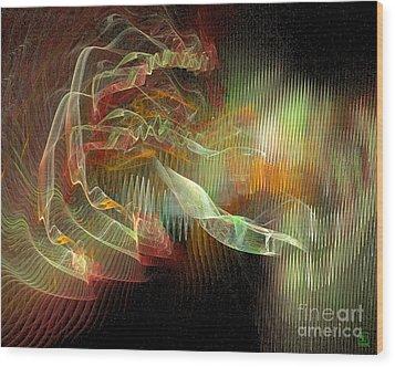 Expanding 1 Wood Print by Jeanne Liander
