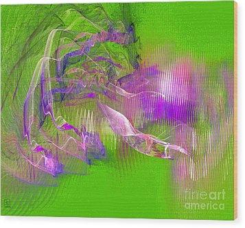 Expanding 6 Wood Print by Jeanne Liander