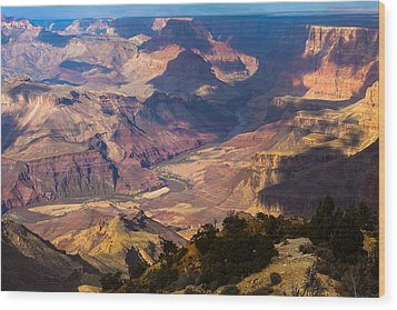 Expanse At Desert View Wood Print