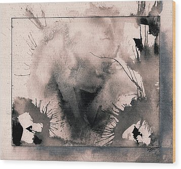 Explosion Wood Print by Marc Philippe Joly
