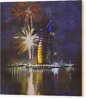 Expo Celebrations Wood Print by Corporate Art Task Force