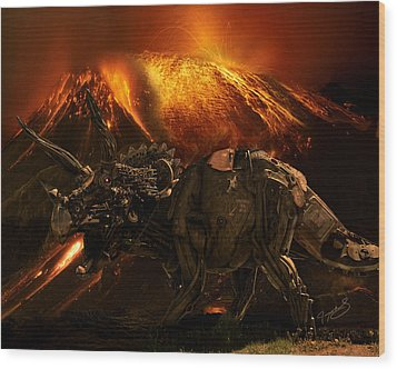 Extinction    The Second Coming Wood Print