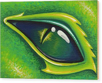 Eye Of Cepheus Wood Print by Elaina  Wagner