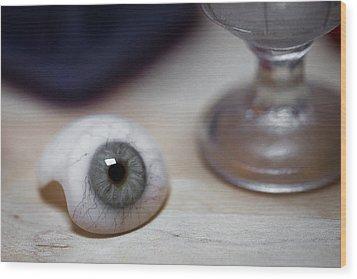 Eye Of The Beholder Wood Print