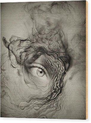 Eye Of The I Wood Print