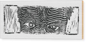 Eye Spy Wood Print by Jame Hayes