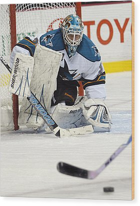 Eyes On The Prize  Antti Niemi Wood Print by Don Olea