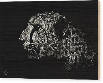 Eyes On The Prize Wood Print by Nathan Cole