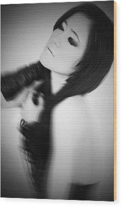 Eyes Wide Shut Wood Print by Mayumi Yoshimaru