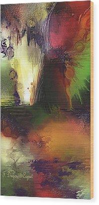 Eygirunne Wood Print by Francoise Dugourd-Caput
