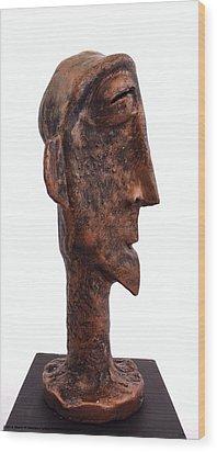 Fabulas Bronze Idol  Wood Print by Mark M  Mellon