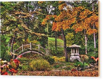 Fabyan Japanese Gardens I Wood Print