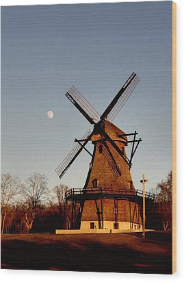 Fabyan Windmill Wood Print