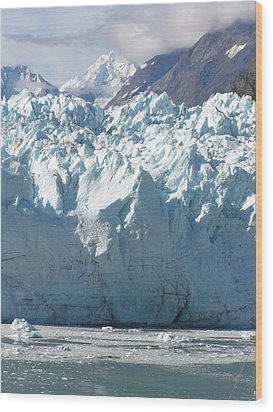 Face Of A Giant In Alaska Wood Print