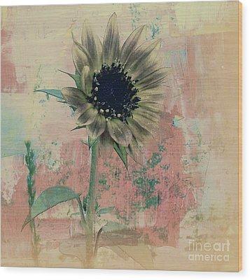 Faded Love Wood Print by Janice Westerberg