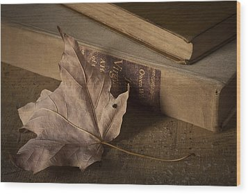 Fading Wood Print by Amy Weiss