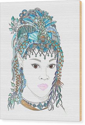 Fairy 5 Wood Print