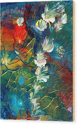 Fairy Dust Wood Print by Nan Bilden