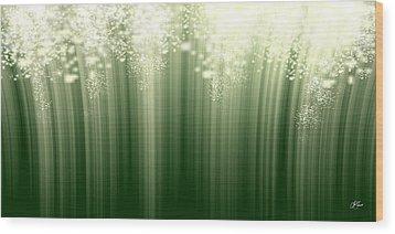 Fairy Grass Wood Print