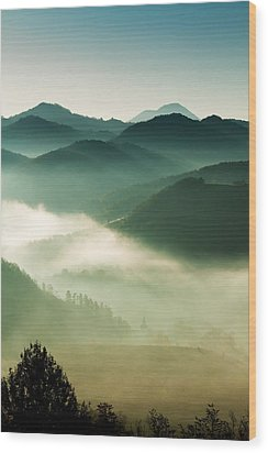 Fairyland Morning Wood Print by Mircea Costina Photography