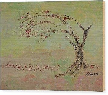 Faith #2 Wood Print by William Killen