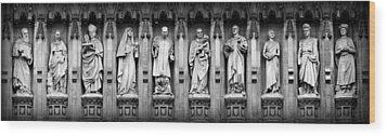 Faithful Witnesses Wood Print by Stephen Stookey