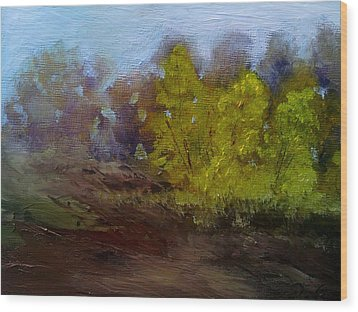 Fall Color Wood Print by Dwayne Gresham