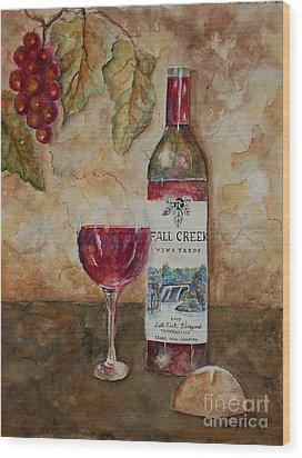 Fall Creek Vineyards Wood Print