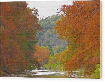 Wood Print featuring the photograph Fall Spectacular by David  Norman