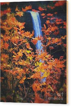 Fall Splendor Wood Print