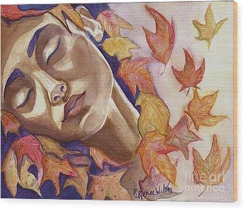 Falling Wood Print