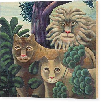 Family Portrait Wood Print by Jerzy Marek