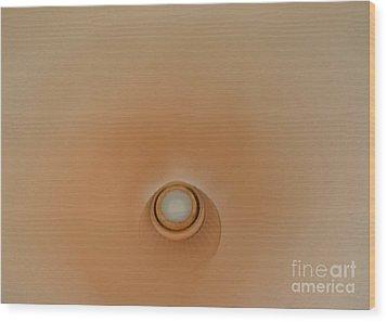 Fan Softly Spins Wood Print