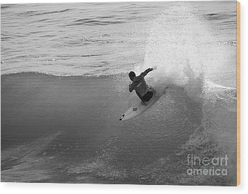 Wood Print featuring the photograph Fan Spray by Paul Topp