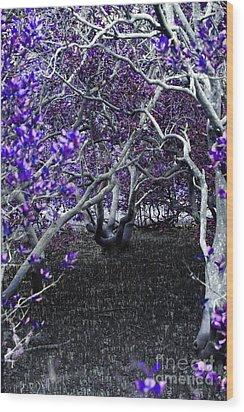 Fantasywood Wood Print