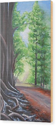 Faraway Wood Print by Jane  See