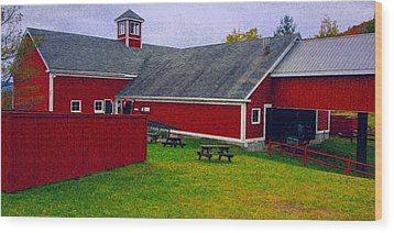 Wood Print featuring the photograph Farm by Bill Howard